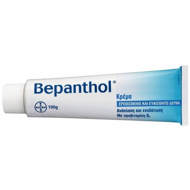 Bepanthol Κρέμα για το Ερεθισμένο &Ευαίσθητο Δέρμα 5% 100gr & Δώρο 2 Δείγματα Bepanthol Αντηλιακα Face-Body 2x5ml