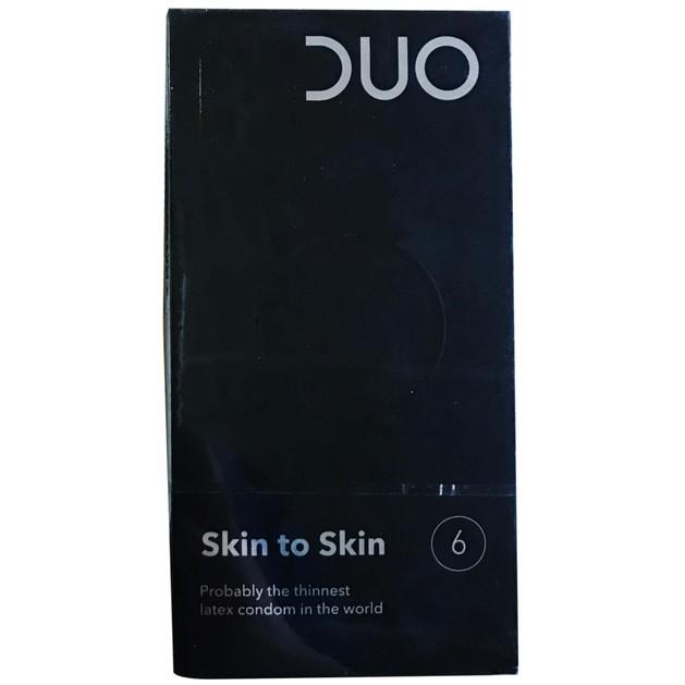 Duo Skin to Skin Λεπτά Προφυλακτικά  6 τεμάχια