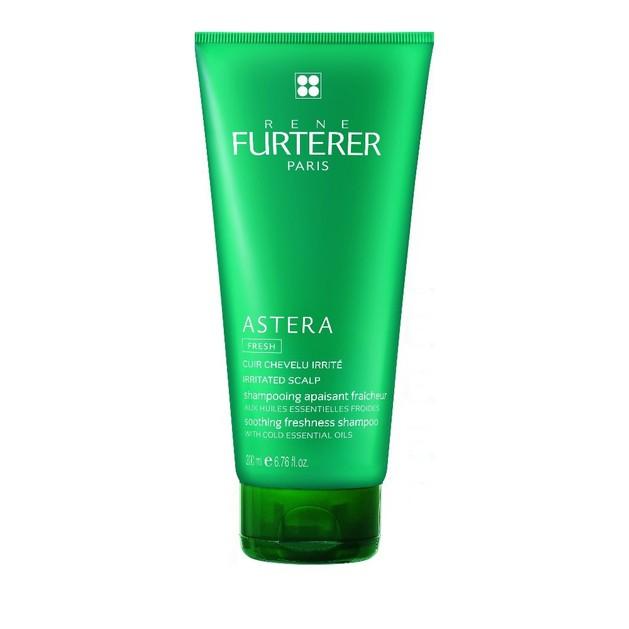 Rene Furterer Astera Soothing Shampoo Καταπραϋντικό Δροσιστικό Σαμπουάν για το Ερεθισμένο Τριχωτό 200ml