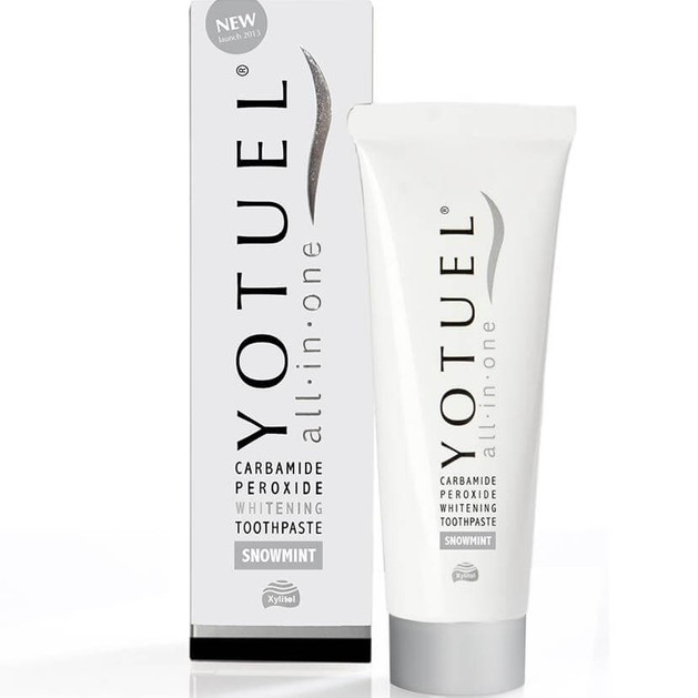 Yotuel Carbamide Peroxide Whitening Toothpaste All in One Snow Mint Οδοντόκρεμα για Λεύκανση & Αναμετάλλωση του Σμάλτου 75ml