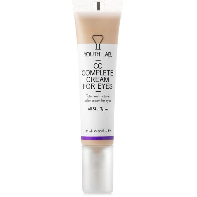 Δώρο Youth Lab CC Complete Cream for Eyes All Skin Types Κρέμα Ολικής Αναδόμησης με Χρώμα για την Περιοχή των Ματιών 15ml