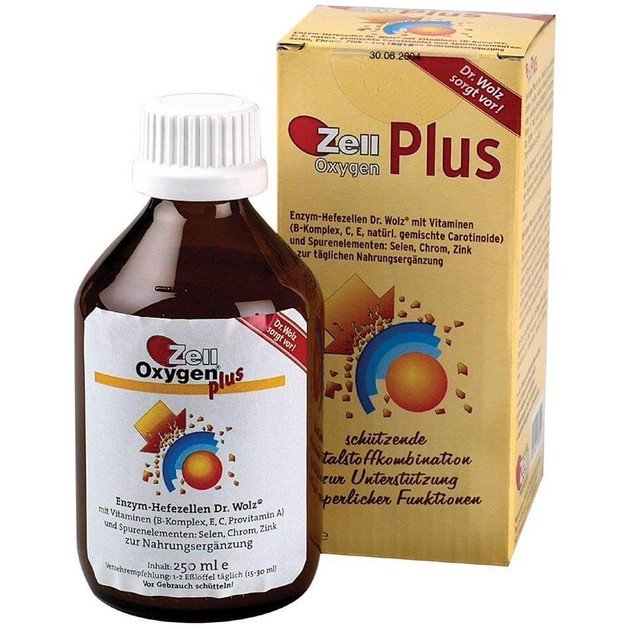 Zell Oxygen Plus 250ml - Power Health