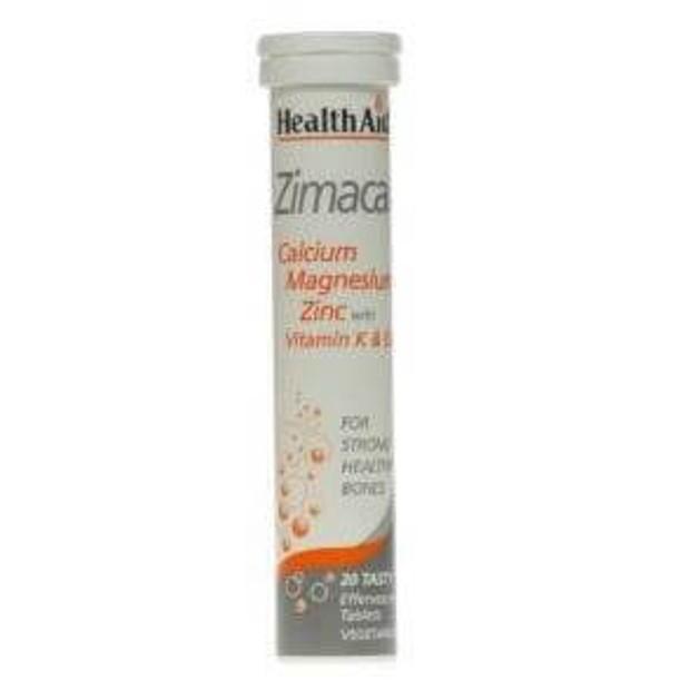 Health Aid Calmagzinc - Zimacal 20eff.tabs