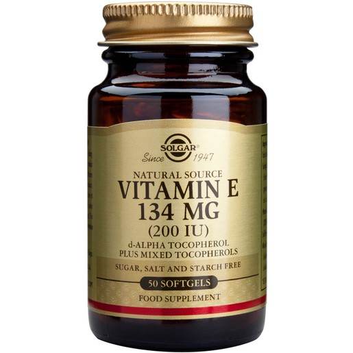 Solgar Vitamin E softgels
