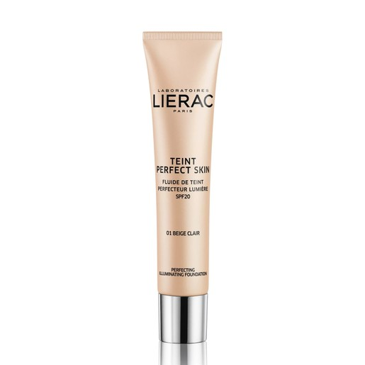 Lierac Teint Perfect Skin Perfecting Illuminating Fluid Spf20 Dermo-Make Up Διορθωτικό Υγρό Make Up για Φυσικό Αποτέλεσμα 30ml