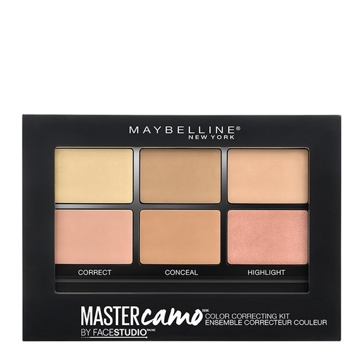 Maybelline Master Camo Face Color Correcting Kit Διορθωτική Παλέτα για Άψογη Επιδερμίδα στη Στιγμή 6.5gr