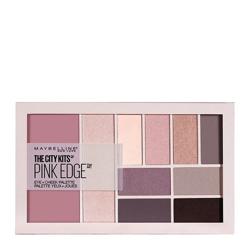 Maybelline The City Kits All-in-One Eye & Cheek Palette Παλέτα Μακιγιάζ με Παλέτα Σκιών, Ρουζ & Highlighter 12gr