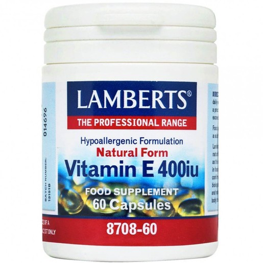 Lamberts Vitamin E 400iu Natural Form