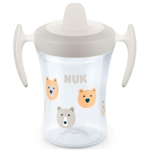 Nuk Trainer Cup με Μαλακό Ρύγχος και Χεράκια 6+ , 230ml