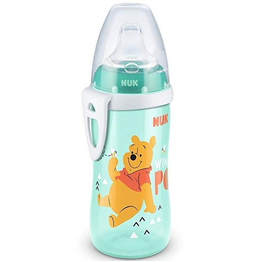 Nuk Active Cup Disney Winnie the Pooh Παγουράκι με Ρύγχος Σιλικόνης 12m+ BPA Free 300ml
