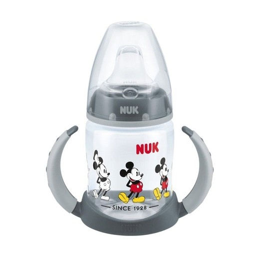 Nuk First Choice Disney Mickey Μπιμπερό Εκπαίδευσης με Ρύγχος Σιλικόνης (6-18 Μηνών) 150ml