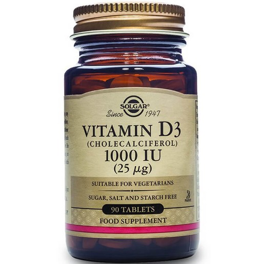 Solgar Vitamin D3 tabs