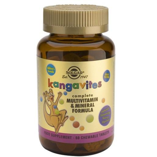 Solgar Kangavites Multivitamin & Mineral Formula 60 chew.tabs