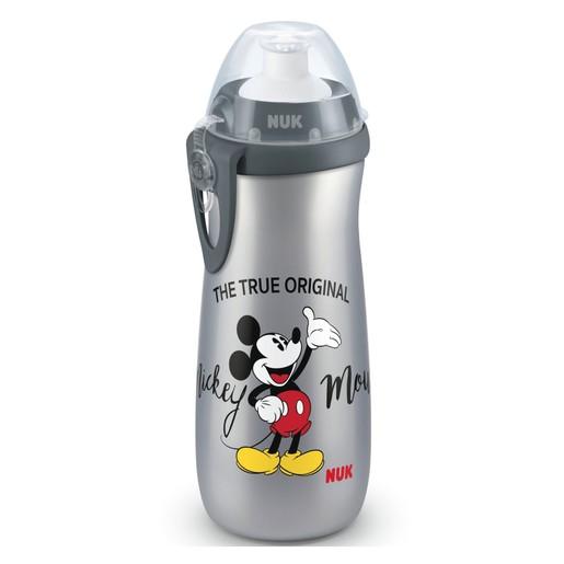 Nuk Disney Mickey Sports Cup Πλαστικό Παγουράκι με Καπάκι Push-Pull 36m+ 450ml