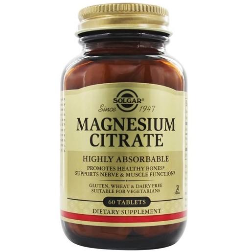 Solgar Magnesium Citrate 200mg  tabs