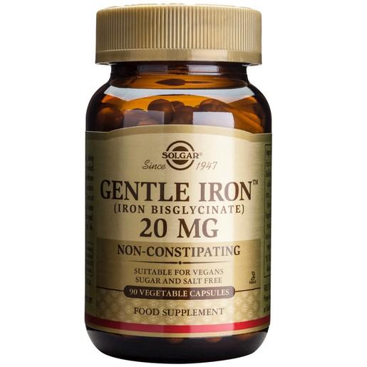 Solgar Gentle Iron 20mg veg.caps