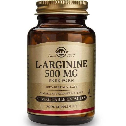 Solgar L-Arginine veg caps