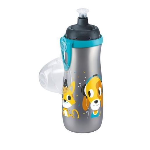 Nuk Sports Cup Πλαστικό Παγουράκι με Καπάκι Push-Pull 36m+ 450ml