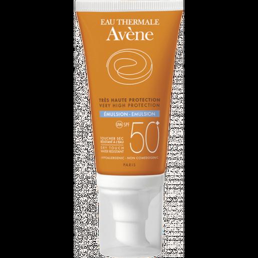 Avene Very High Protection Emulsion Spf50+ Πολύ Υψηλή Αντηλιακή Προστασία του Ευαίσθητου Κανονικού & Μεικτού Δέρματος 50ml