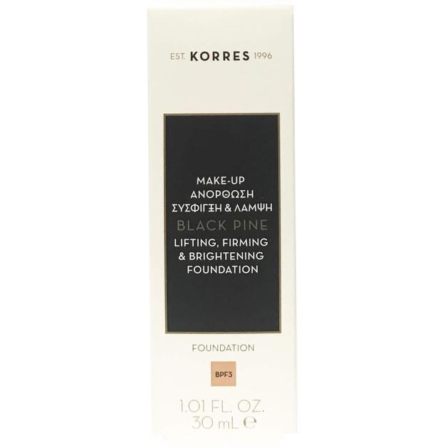Μαύρη ΠεύκηFoundation Make-up 30ml - Korres