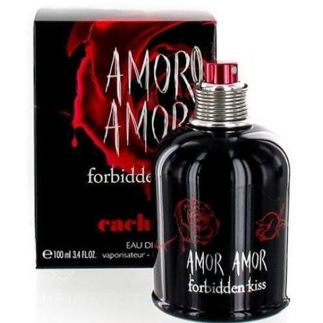 Cacharel Amor Amor Forbidden Kiss Eau De Toilette 100ml