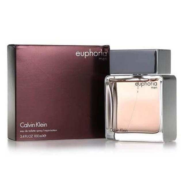 Calvin Klein Euphoria For Men Eau De Toilete 100ml