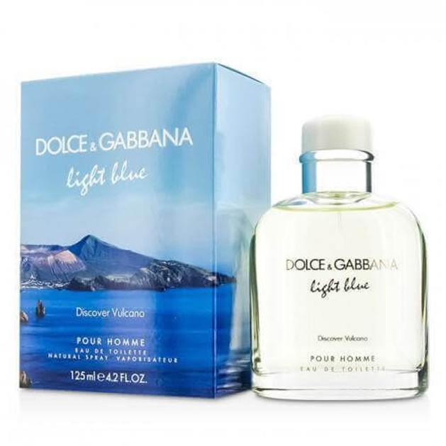 Dolce & Gabbana Light Blue Discover Vulcano Eau de Toilette 125ml