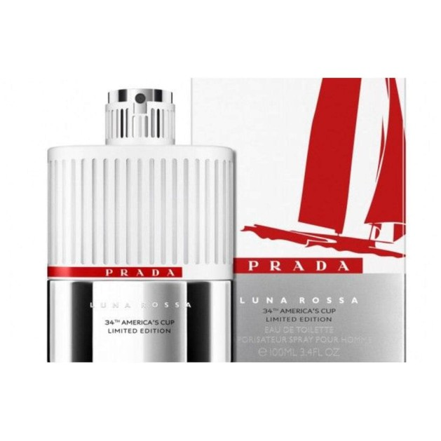 Prada Luna Rossa 34th America\'s Cup Limited Edition Eau De Toilette 100ml