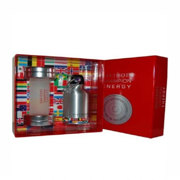 Davidoff Champion Energy Eau de Toilette 90ml +Sports Flask (Δώρο Φλασκί νερού)