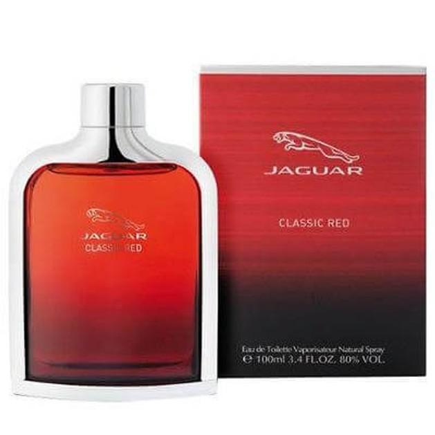 Jaguar Classic Red Eau De Toilette 100ml