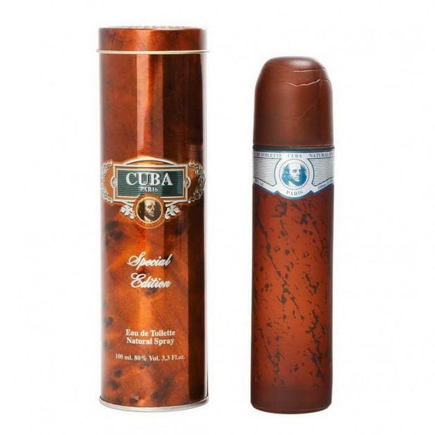 CUBA Cuba Blue Special Edition eau de toilette 100ml