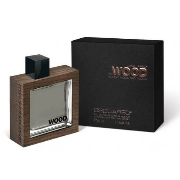 DSQUARED² He WOOD Rocky Mountain Eau De Toilette 50ml