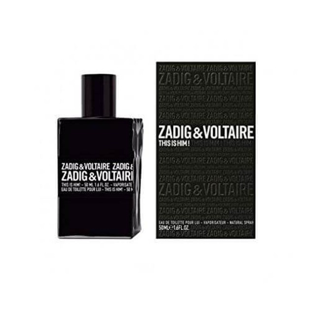 Zadig & Voltaire This is Him! Eau de Toilette 50 ml