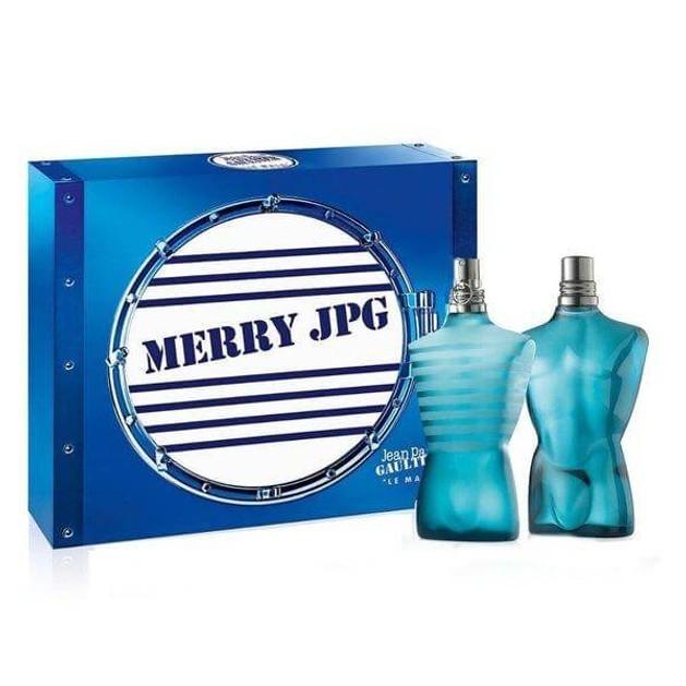 Jean Paul Gaultier Le Male Gift Set Eau de Toilette 125ml and After Shave Lotion 125ml