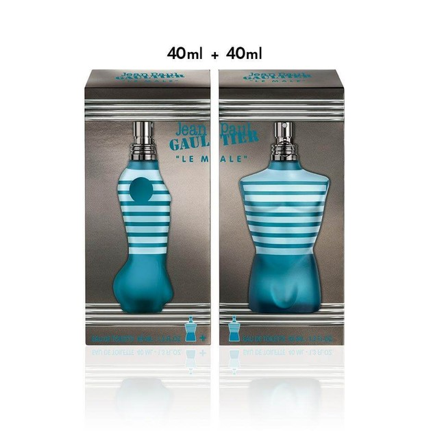 Jean Paul Gaultier Le Male Eau de Toilette 40ml + 40ml