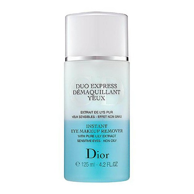 Christian Dior Duo Express Demaquillant Yeux instant eye makeup remover 125ml