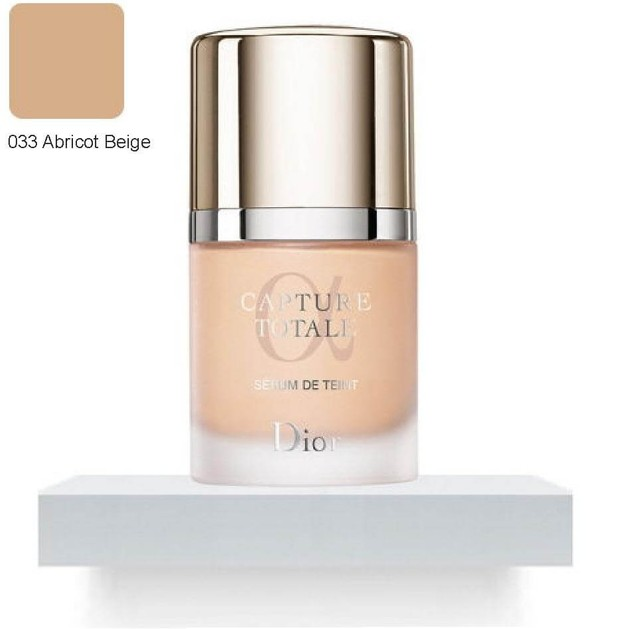 Christian Dior Capture Totale Serum Foundation 033 Beige Abricot Apricot Beige (make up)