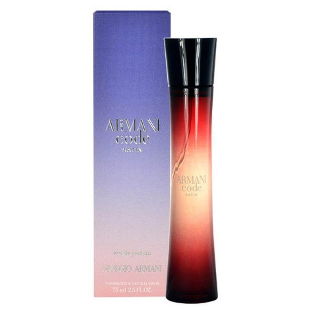 Armani Code Satin Eau De Parfum 75ml