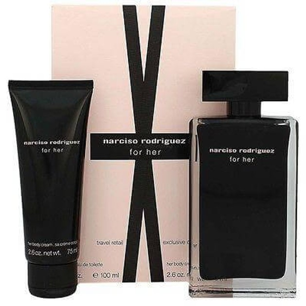 NARCISO RODRIGUEZ Narciso Rodriguez for her Gift set eau de toilette 100ml + Body cream 75ml