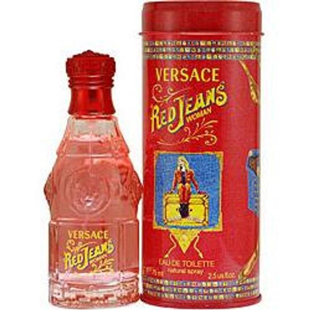 Versace Red Jeans Woman Eau de Toilette 75ml