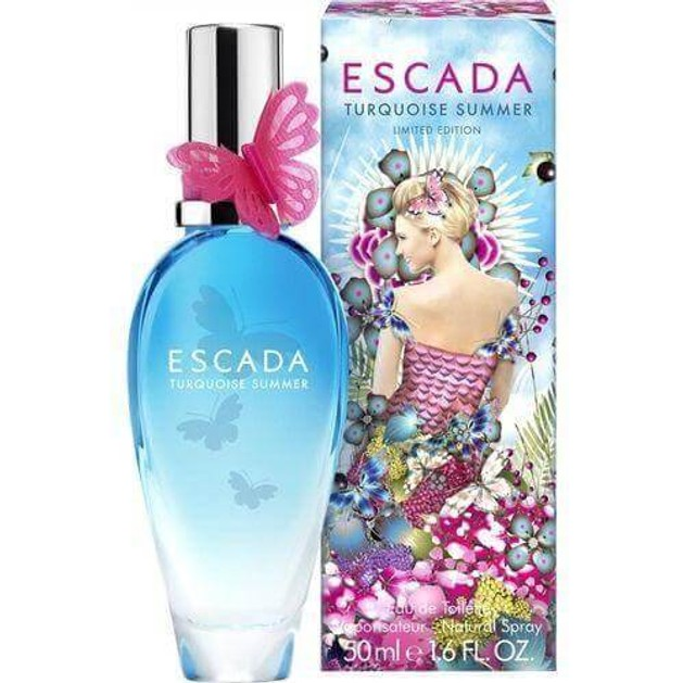 Escada Turquoise Summer Limited Edition Eau De Toilette 50 ml