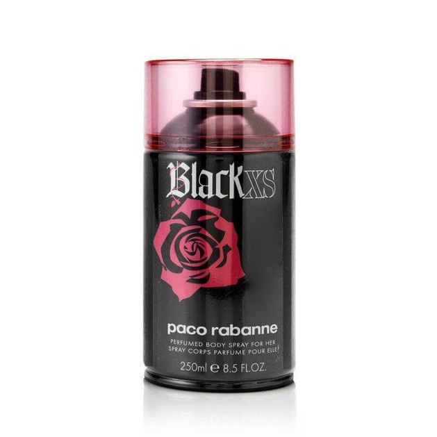 Paco Rabanne Black XS for Her Body Spray 250ml