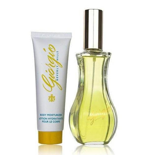 Giorgio Beverly Hills Giorgio Yellow Set 90ml Eau De Toilette + 50ml Body Lotion