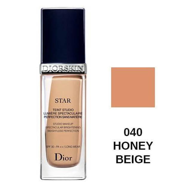Chiristian Dior Diorskin Star Studio Makeup spf30 040 Honey Beige 30ml