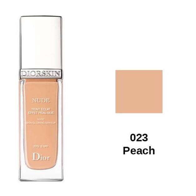Christian Dior Diorskin Nude Skin-Glowing Make up 023 Peach SPF 15 30ml