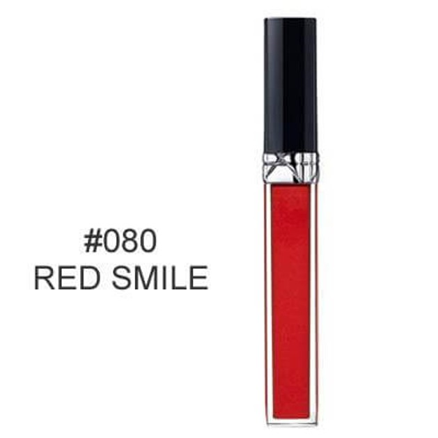 Christian Dior Rouge Dior Brilliant  Lipshine and Care Couture Colour 080 Red Smile 6ml