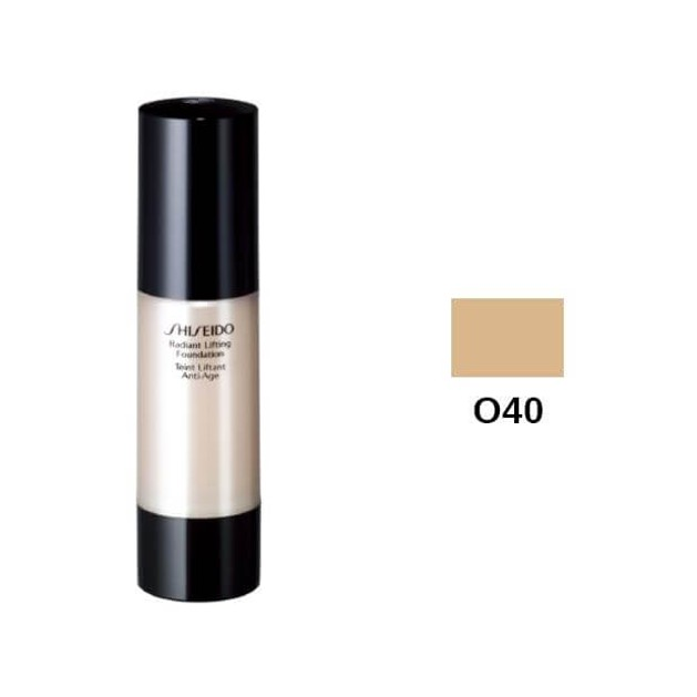 Shiseido Radiant Lifting Foundation SPF15 O40 Natural Fair Ochre 30ml