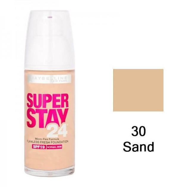 Maybelline Super Stay24 Flawless Fresh Look Foundation 30 Sand 30ml
