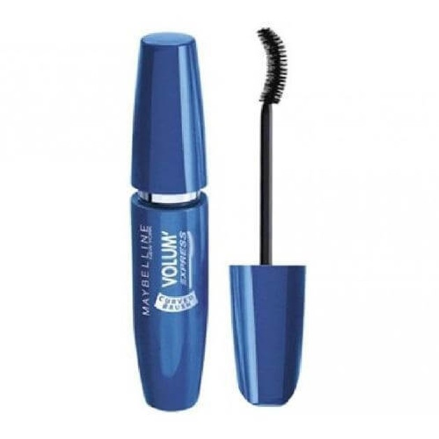 Maybelline Volume Express Curved Brush Mascara Black 10ml