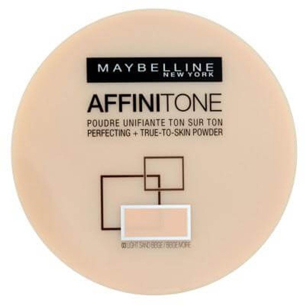 Maybelline Affinitone Tone-on Tone Powder 03 Light Sandbeige 9g